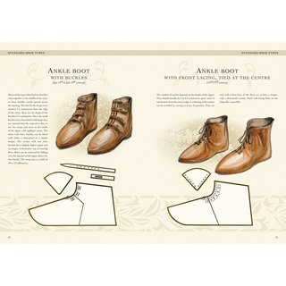 Make your own medieval clothing - Shoes of the High and Late Middle Ages